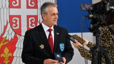 Ратни начелник штаба 63. падобранске бригаде потпуковник у пензији Видоје Ковачевић