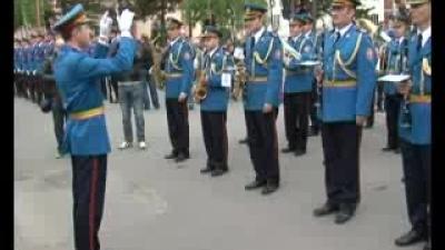 Nastup Reprezentativnog orkestra i egzercir Garde u Ćupriji