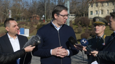 Председник Александар Вучић, први део