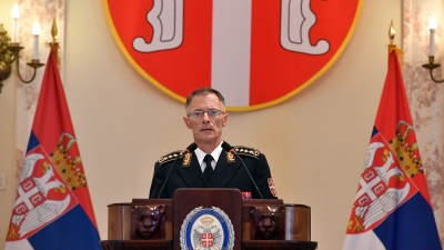 Obraćanje general-potpukovnika Milana Mojsilovića