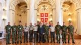 Пријем за припаднике Војске Србије - освајаче медаља на Међународним војним играма