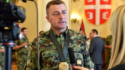 Statement by Private 1st Class Dragan Rašković