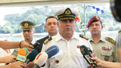 Изјава команданта Речне флотиле капетана бојног брода Андрије Андрића