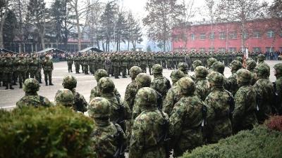 Polaganje vojničke zakletve u Valjevu
