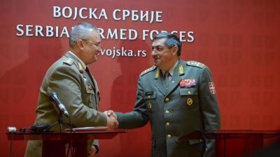 Генерал Диковић о сарадњи с Војском Румуније