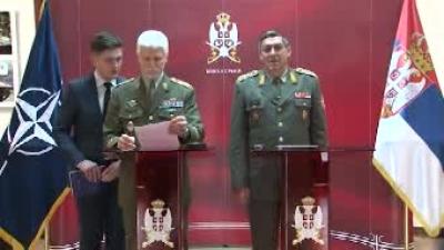 Председавајући Војном комитету НАТО-a у посети Србији