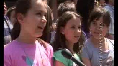 Деца Пожаревца - Јана, Милица и Данило