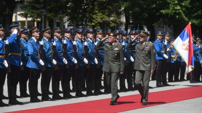 Visit of the Chief of the Cypriot National Guard