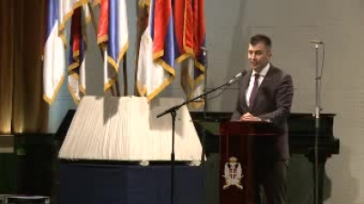 Ceremony on the occasion of 100 years of telecommunications in the SAF