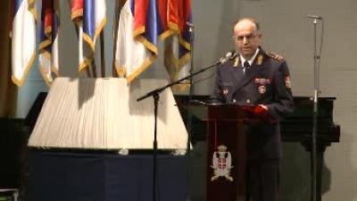 Obraćanje brigadnog generala Predraga Simovića