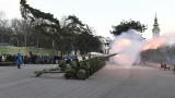 Ceremonial Gun Salute on the Occasion of the Statehood Day