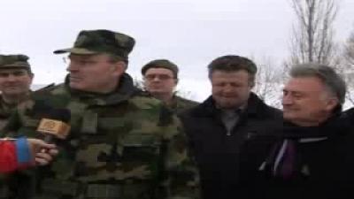 Војска Србије помаже житељима општине Сјеница