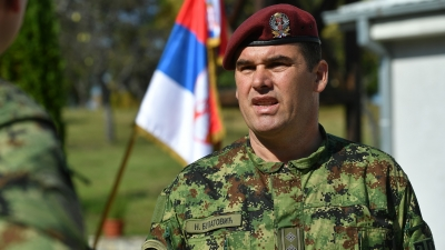 Заменик команданта 63. падобранске бригаде пуковник Ненад Булатовић