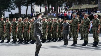 Свечаност полагања заклетве у Лесковцу