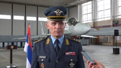 Командант РВ и ПВО генерал-мајор Душко Жарковић