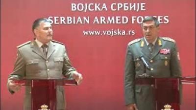 Обраћање генерал-пуковника Анта Јелеча