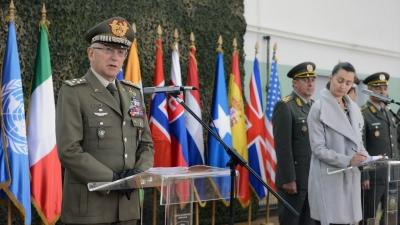 Обраћање генерала Клаудија Грацијана