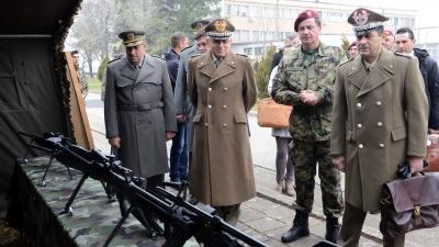 Генерали Диковић и Грацијано у обиласку Специјалне бригаде