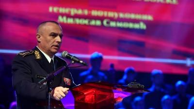 Говор команданта Копнене војске генерала Симовића