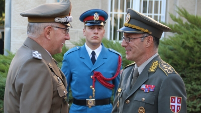 Chairman of the EU Military Committee visiting Serbia