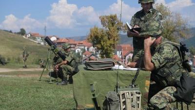 Obilazak 28. mehanizovanog bataljona