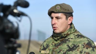 Капетан Ивица Бараћ, командир 1. пешадисјке чете