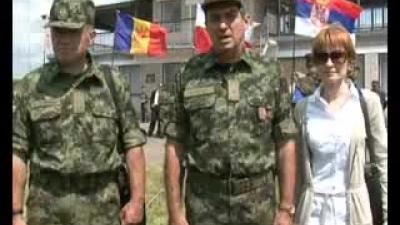 Генерал Диковић обишао учеснике вежбе у Украјини