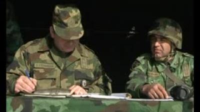 """Вежба Мешовите артиљеријске бригаде """"Удар 2012"""""""