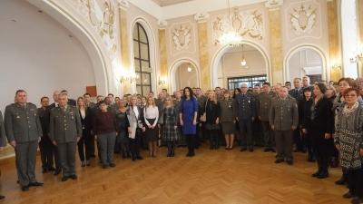 Prijem za nagrađene i pohvaljene pripadnike Ministarstva odbrane i Vojske Srbije