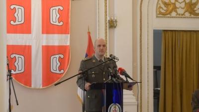 Потпуковник Александар Здравковић, командант 28. механизованог батаљона