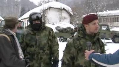 Тим Војске Србије у акцији спасавања на Чемернику