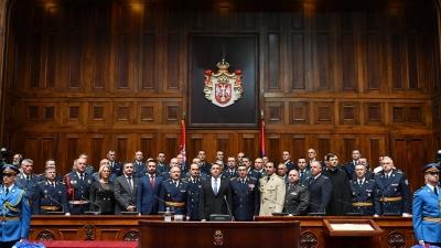 Свечаност поводом завршетка школовања 61. класе Генералштабног усавршавања и 7. класе Високих студија безбедности и одбране