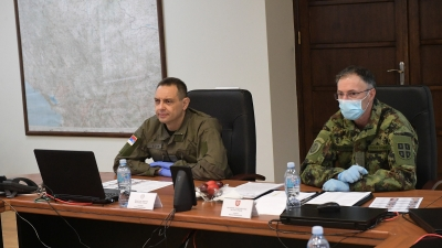 The Minister of Defence at the General Staff on Easter: The Serbian Armed Forces Have Shown That They Are a Great Support to Their Country