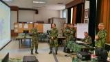 Шведски генерал Калерт на вежби Викинг 18