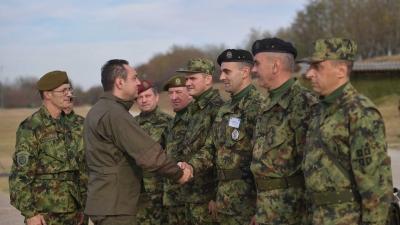Припреме за вежбу Петог батаљона војне полиције