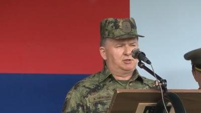 Načelnik Uprave za logistiku brigadni general Željko Ninković