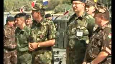 Заједничка гађања припадника ОС Мађарске и Речне флотиле