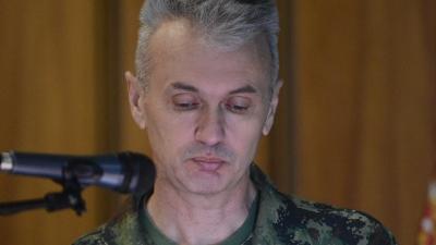 Пуковник Мичо Бранковић, начелник ЦОПС