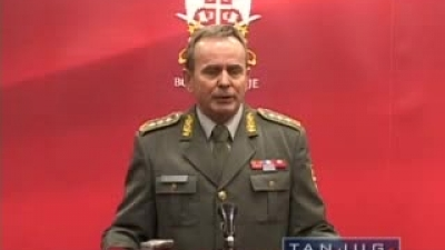 Gen Miletic about the 3rd regional conference in Belgrade