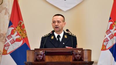 Прослава Дана војне полиције, обраћање пуковника Миловановића