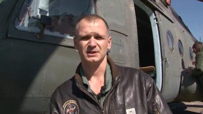 Kapetan Dejan Novaković, pilot 119. mešovite helikopterske eskadrile