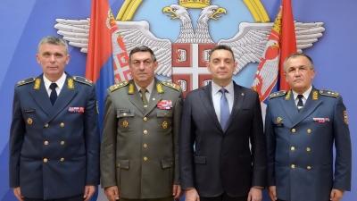Svečanost povodom primopredaje dužnosti komandanta RV i PVO