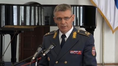 Obraćanje brigadnog generala Duška Žarkovića