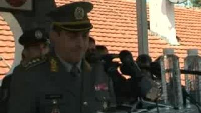 Полагање заклетве војника на добровољном служењу војног рока