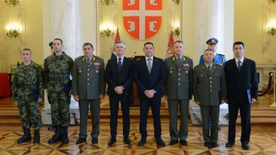 Awards to the members of the Ministry of Defence and the Serbian Armed Forces