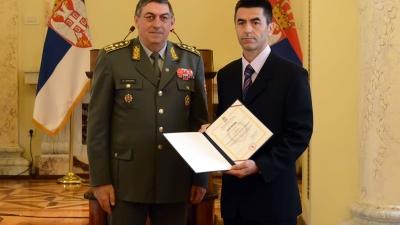 Војни службеник Милан Павловић
