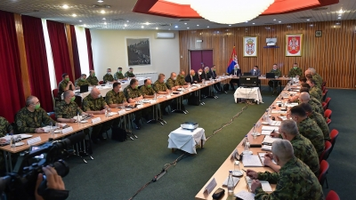 Joint session of the Collegium of the Minister of Defence and the extended Collegium of the Chief of the General Staff