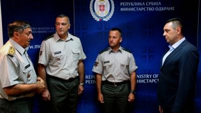 Пријем поводом херојског дела поручника Трајковића