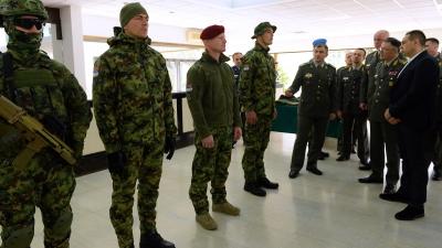 Представљене нове униформе припадника Војске Србије