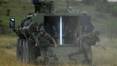 Obilazak obuke na oklopnom vozilu lazar 3